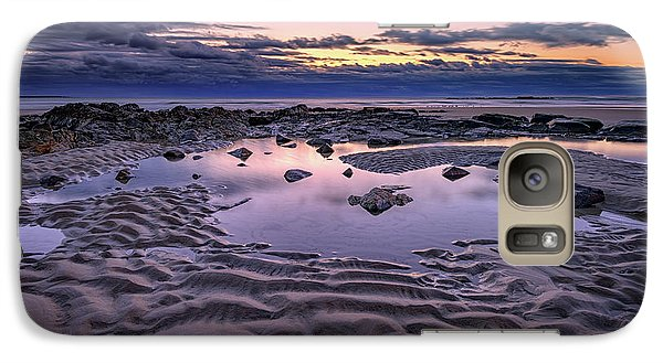 Galaxy Case featuring the photograph Dawn On Wells Beach by Rick Berk