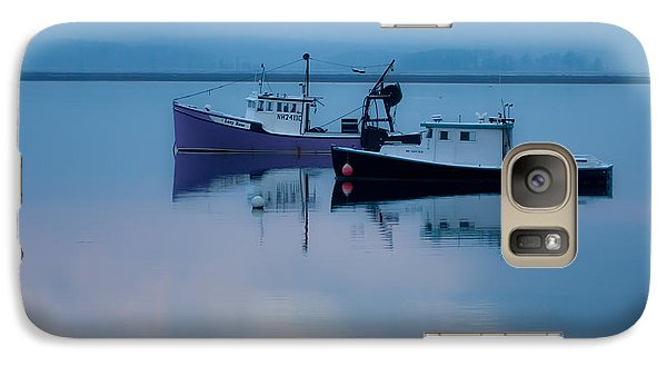 Galaxy Case featuring the photograph Dawn Rising Over The Harbor by Jeff Folger