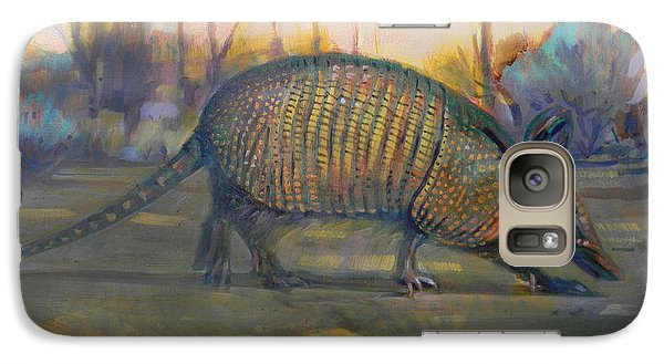 Galaxy Case featuring the painting Dawn Run by Donald Maier