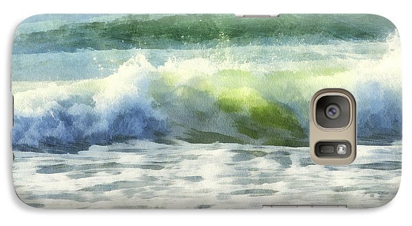 Galaxy Case featuring the digital art Dawn Wave by Francesa Miller