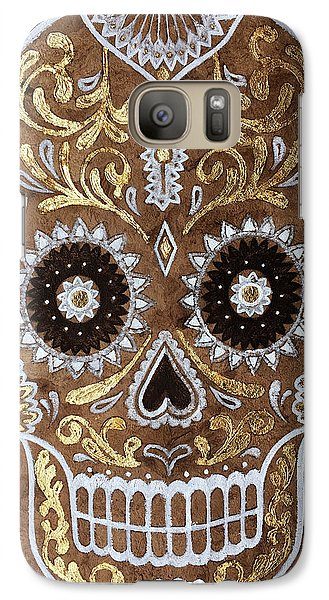 Galaxy Case featuring the painting Day Of Death by J- J- Espinoza