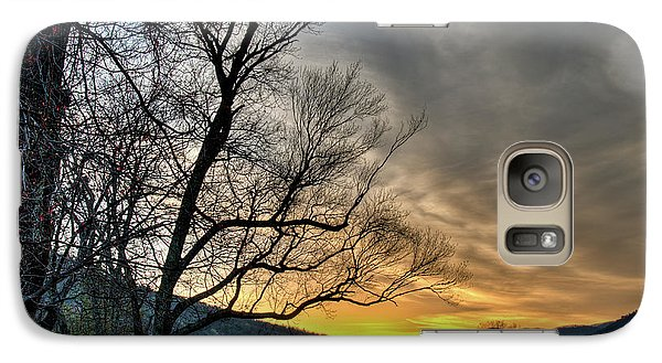 Galaxy Case featuring the photograph Daybreak In The Cove by Douglas Stucky