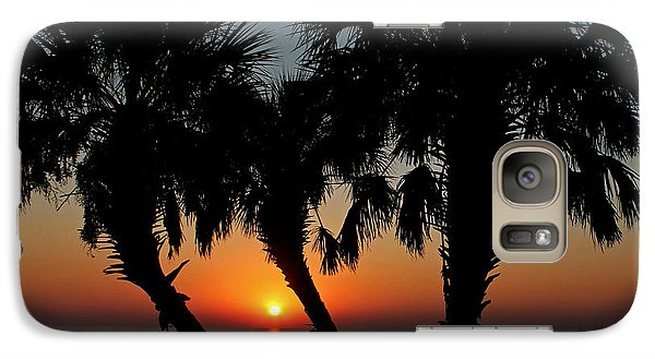 Galaxy Case featuring the photograph Daybreak by Judy Vincent