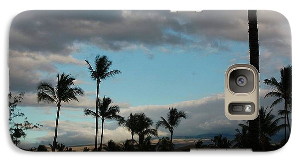 Galaxy Case featuring the photograph Days End Hawaii by Ellen O'Reilly