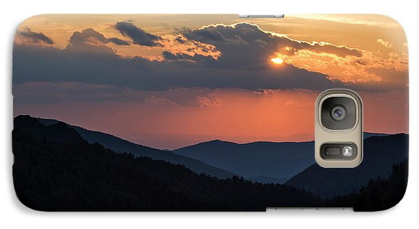 Galaxy Case featuring the photograph Days End In The Smokies - D009928 by Daniel Dempster