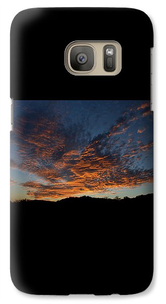 Galaxy Case featuring the pyrography Day's Glorious Ending by Karen Musick