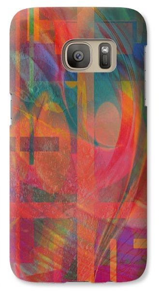Galaxy Case featuring the painting Days Of Summer by Kevin Caudill