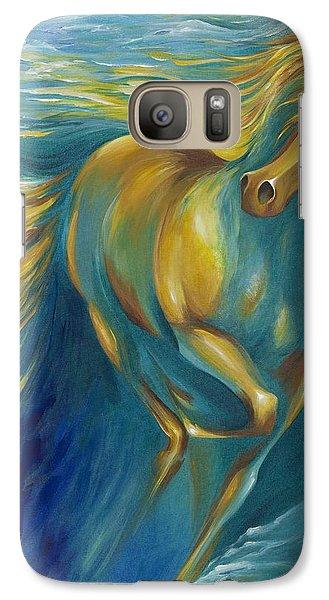 Galaxy Case featuring the painting De La Mare by Dina Dargo