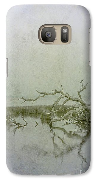 Galaxy Case featuring the digital art Dead In The Water by Randy Steele