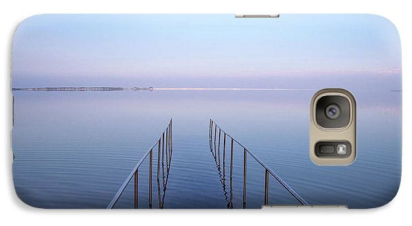 Galaxy Case featuring the photograph The Dead Sea by Yoel Koskas