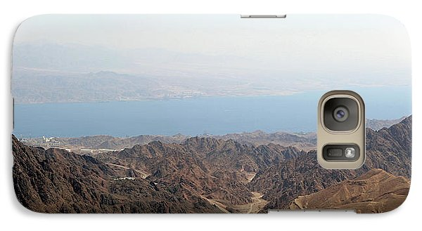 Galaxy Case featuring the photograph Dead Sea-israel by Denise Moore