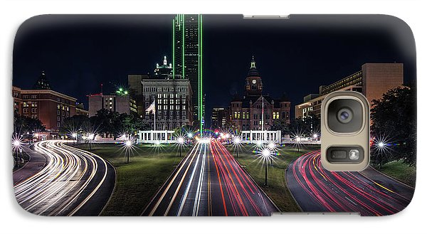 Dealey Plaza Dallas At Night Galaxy S7 Case