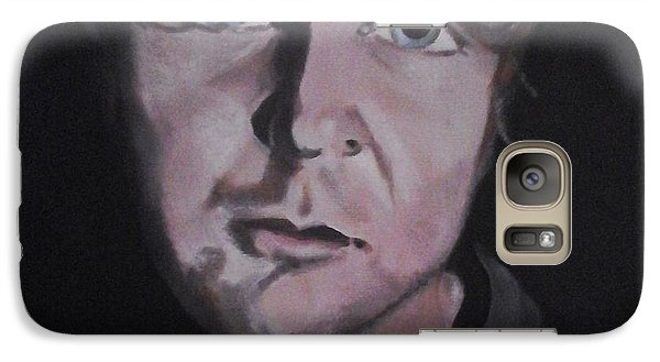 Galaxy Case featuring the painting Dean Ambrose Portrait by Susan Solak