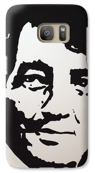 Galaxy Case featuring the drawing Dean Martin Loving Life by Robert Margetts