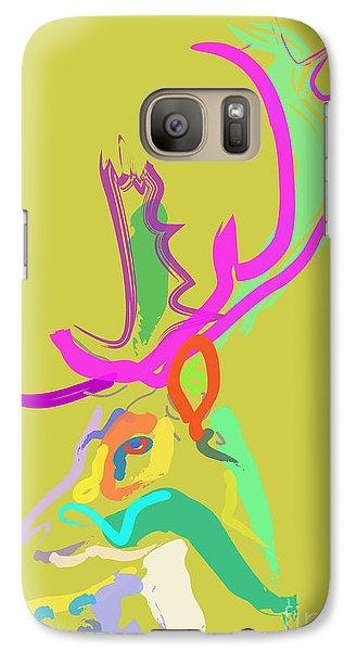 Galaxy Case featuring the painting Dear Deer by Go Van Kampen