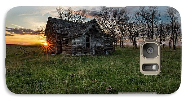 Galaxy Case featuring the photograph Dearly Departed by Aaron J Groen