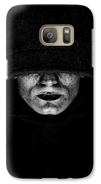 Galaxy Case featuring the photograph Death by Gabor Pozsgai