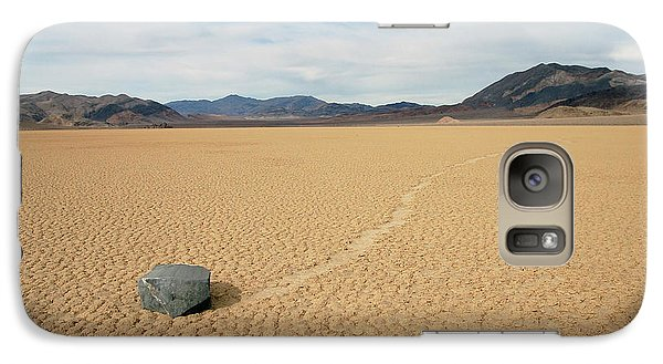 Galaxy Case featuring the photograph Death Valley Ractrack by Breck Bartholomew