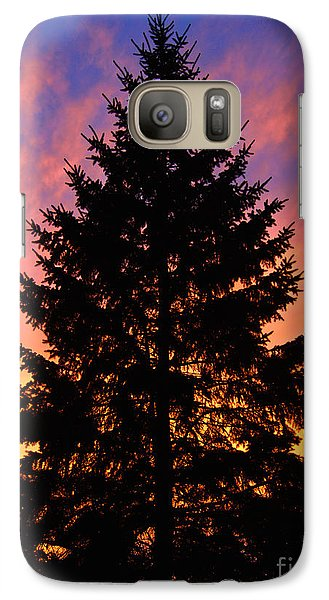 Galaxy Case featuring the photograph December Sunset by Mark Miller