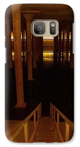 Galaxy Case featuring the photograph Decent To The Styx by Joshua House
