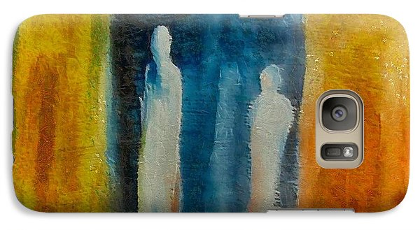 Galaxy Case featuring the mixed media Decision by Dragica  Micki Fortuna