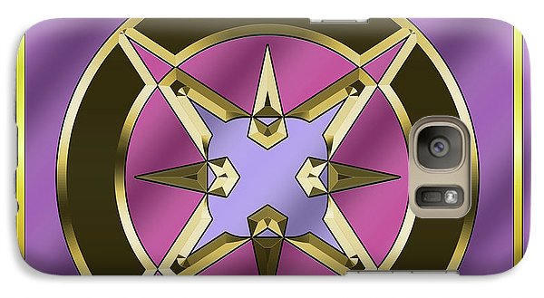 Galaxy Case featuring the digital art Deco 25 - Chuck Staley by Chuck Staley