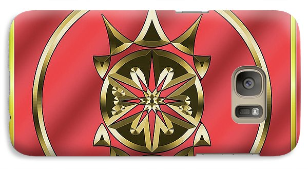 Galaxy Case featuring the digital art Deco 26 - Chuck Staley by Chuck Staley