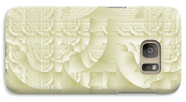 Galaxy Case featuring the digital art Deco Relief by Richard Ortolano