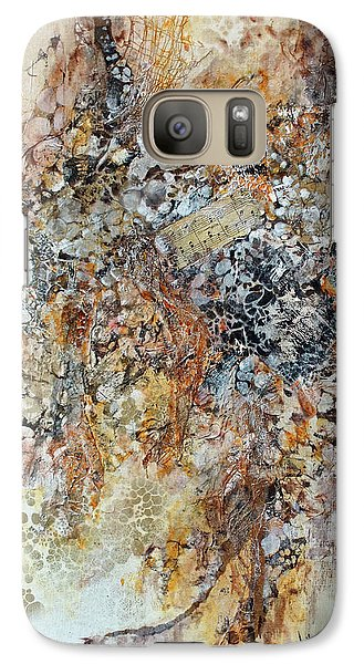Galaxy Case featuring the painting Decomposition  by Joanne Smoley