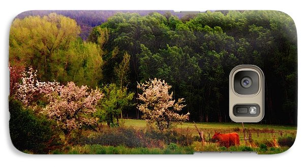Galaxy Case featuring the photograph Deep Breath Of Spring El Valle New Mexico by Anastasia Savage Ealy