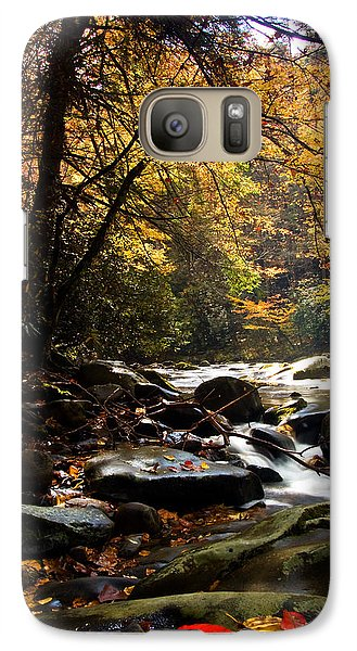 Galaxy Case featuring the photograph Deep Creek Mountain Stream by Bob Decker