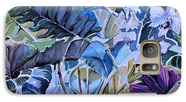 Galaxy Case featuring the painting Deep Dreams by Mindy Newman