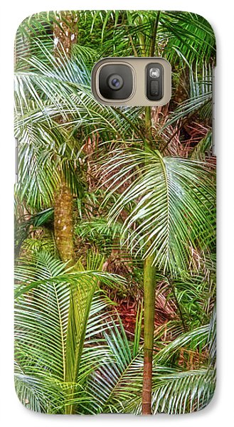 Galaxy Case featuring the photograph Deep In The Forest, Tamborine Mountain by Dave Catley