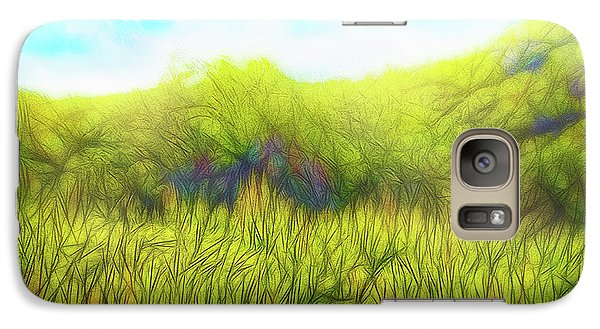 Deep Meadow Tranquility Galaxy S7 Case