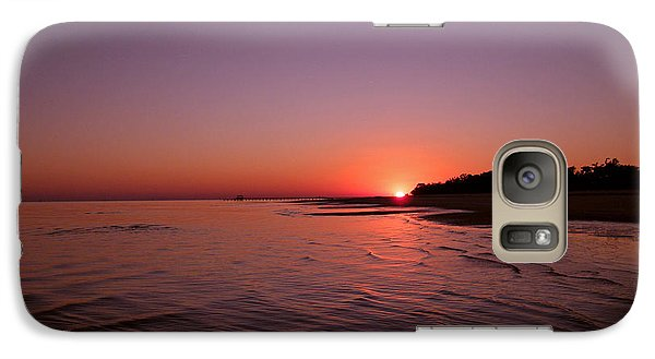 Galaxy Case featuring the photograph Deep Purple by Brian Wright