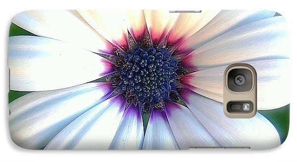 Galaxy Case featuring the photograph Deep Purple Center by Beth Akerman
