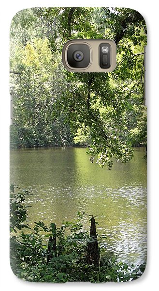 Galaxy Case featuring the photograph Deepwood Retreat by John Glass