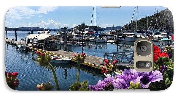 Galaxy Case featuring the photograph Deer Harbor By Day by William Wyckoff