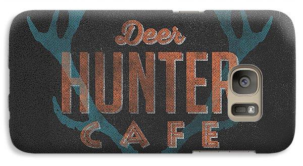 Deer Hunter Cafe Galaxy Case by Edward Fielding