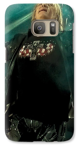Def Leppard Galaxy S7 Case - Def Lappard's Joe Elliott by David Patterson