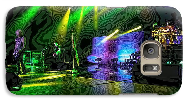 Def Leppard Galaxy S7 Case - Def Leppard At Saratoga Springs 3 by David Patterson