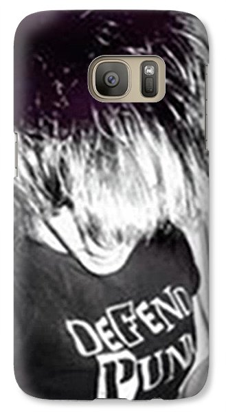 Galaxy Case featuring the photograph Defend Punk by Jane Autry