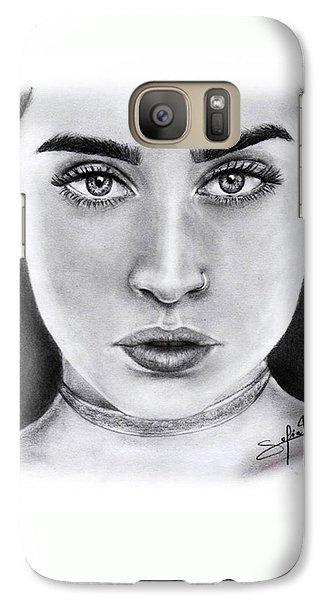 Lauren Jauregui Drawing By Sofia Furniel  Galaxy S7 Case