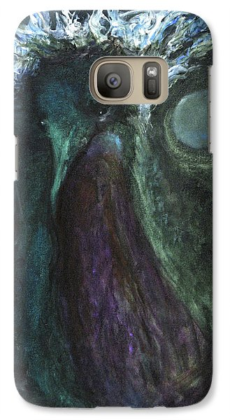 Galaxy Case featuring the painting Deformed Transcendence by Christophe Ennis