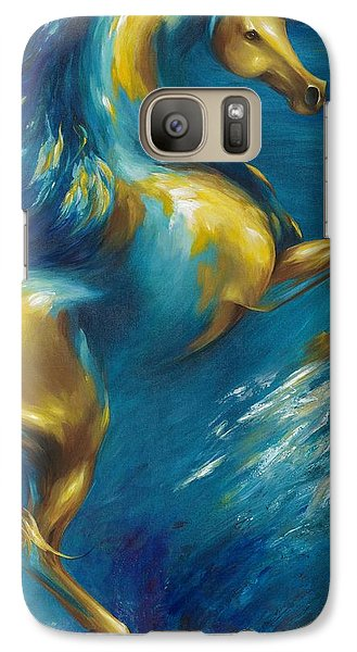 Galaxy Case featuring the painting Del Sol by Dina Dargo