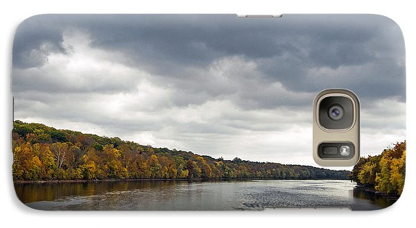 Galaxy Case featuring the photograph Delaware In Autumn by Elsa Marie Santoro