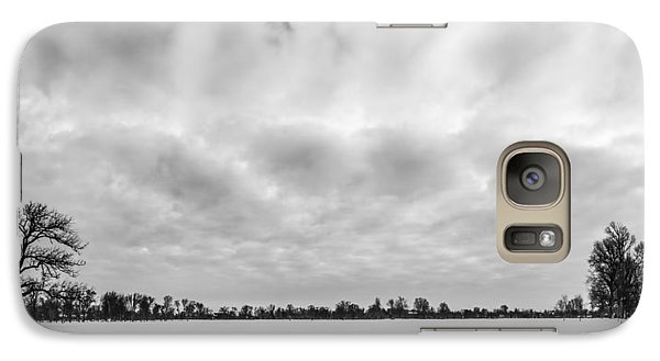 Galaxy Case featuring the photograph Delaware Park Winter  Meadow by Chris Bordeleau