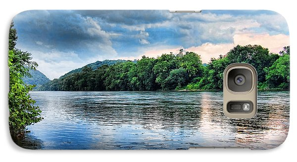 Galaxy Case featuring the photograph Delaware River by Michael Dorn
