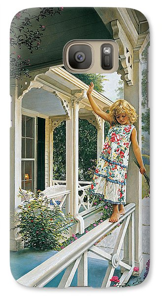 Galaxy Case featuring the painting Delicate Balance by Greg Olsen