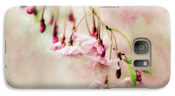 Galaxy Case featuring the photograph Delicate Bloom by Jessica Jenney